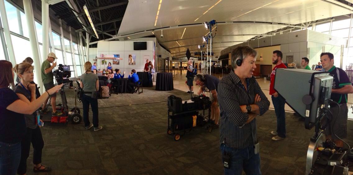 TSA, filming