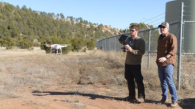 DJI Phantom 4K GoPro drone