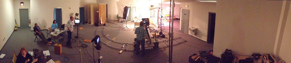panorama shot, studio production