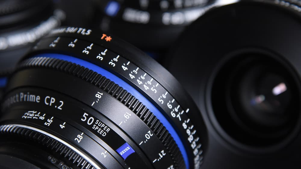 a photo of an expensive camera lens