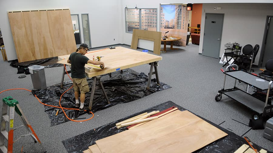 Rock Creek Set Construction Timelapse